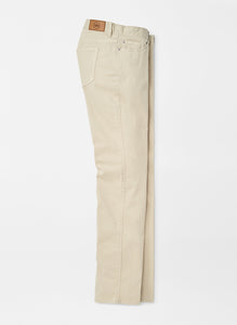 Peter Millar- Ultimate Sateen Five-Pocket Pant- Sand