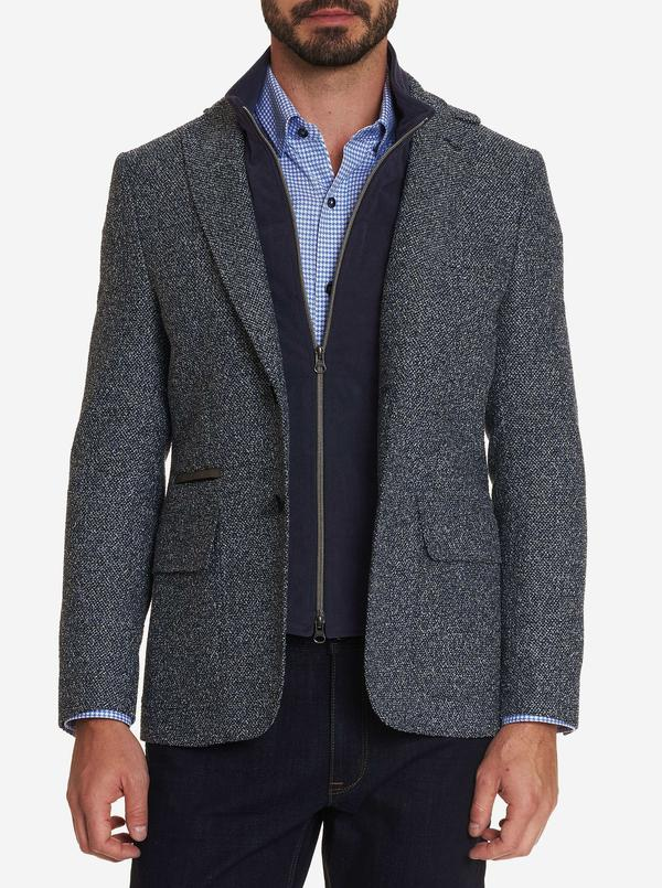 Downhill XII- Textured Sport Coat- Tailored Fit