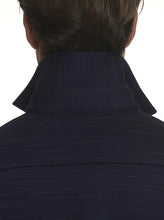 Load image into Gallery viewer, Robert Graham- RENSON- Knit Shirt Jacket with Stretch- Navy