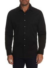 Load image into Gallery viewer, Robert Graham- ANDRETTI black long sleeve shirt