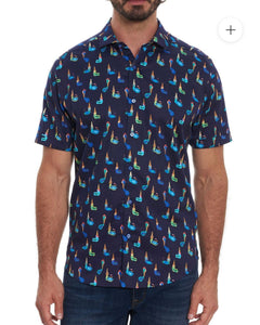 ROBERT GRAHAM- ICECREAM SHOP- SHORT SLEEVE SHIRT