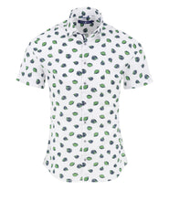 Load image into Gallery viewer, Stone Rose-LIME print shirt