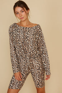All About Cheetah Top