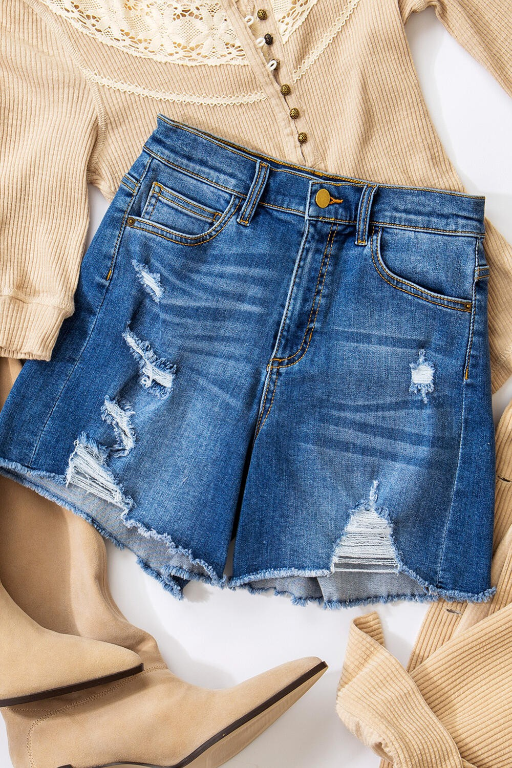 Wear Your Denim Shorts