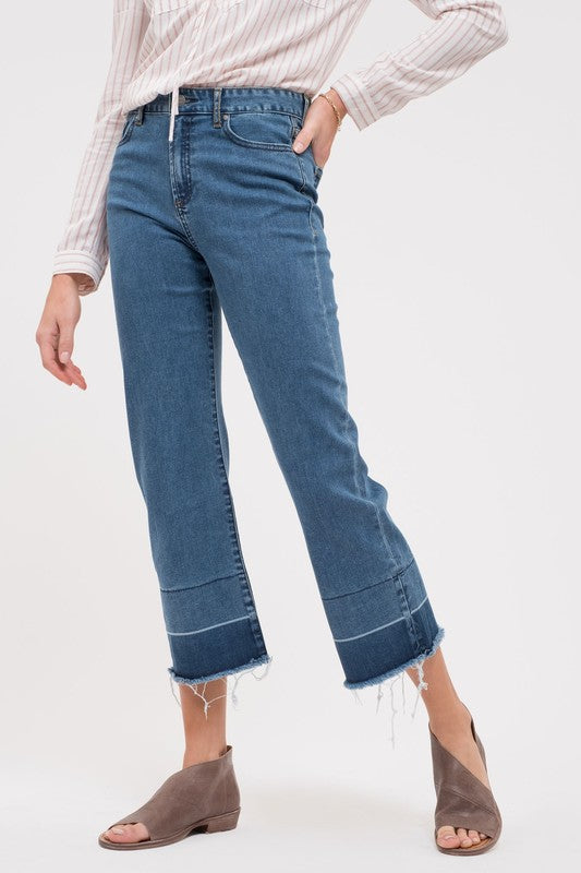 Echo Park Wide Leg Denim