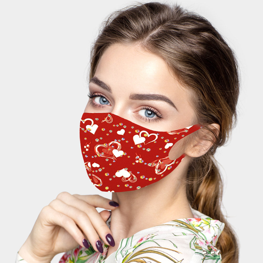Valentine Heart Mask