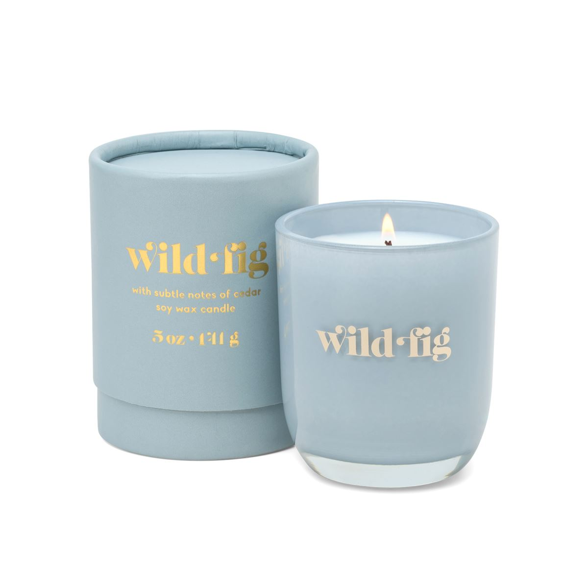 Wild Fig Opaque Glass Candle