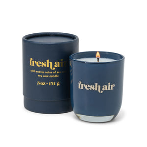 Fresh Air Opaque Glass Candle