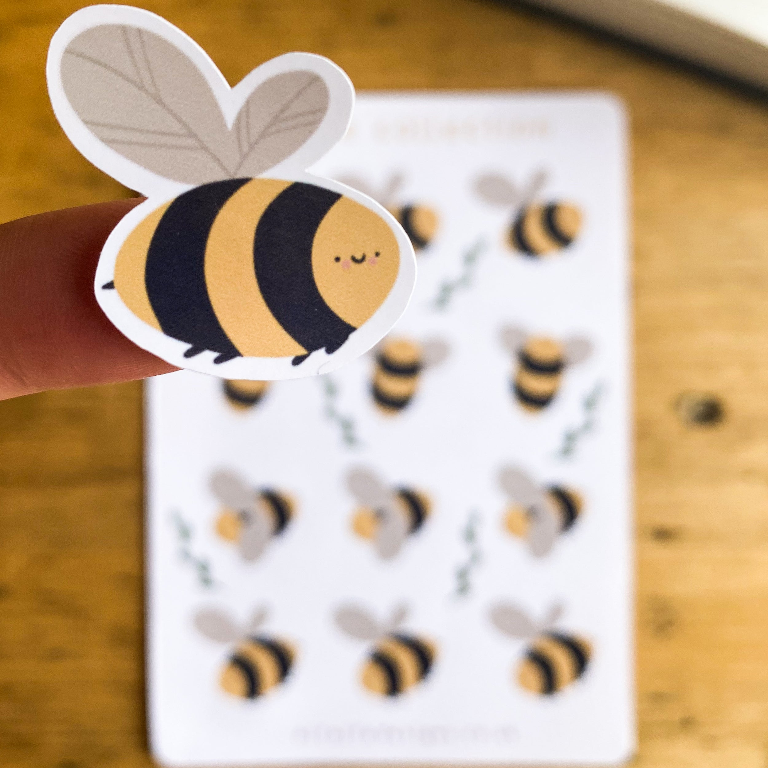 Bee Collection Planner Stickers