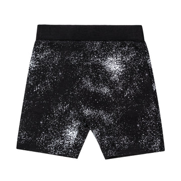 """Galaxy"" Nylon Black Short"
