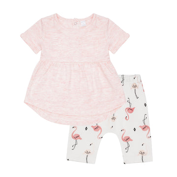 """Flamingo"" Tunic & Legging Set"