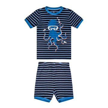 Octopus Summer PJ Set