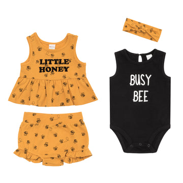 """Bee"" Summer Set (4Pc)"