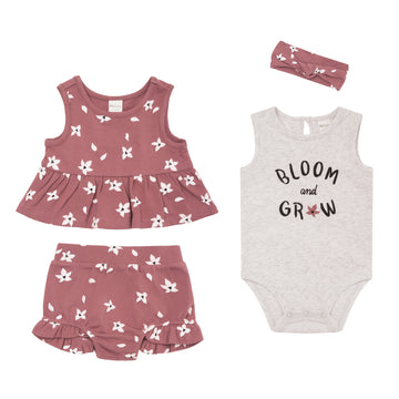 """Bloom"" Summer Set (4Pc)"