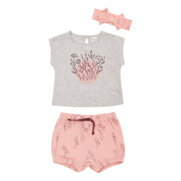 """Bloom"" Outfit Set (3Pc)"