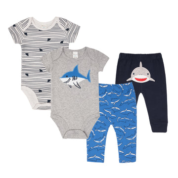 "Mix & Match ""Shark"" Set (4Pc)"