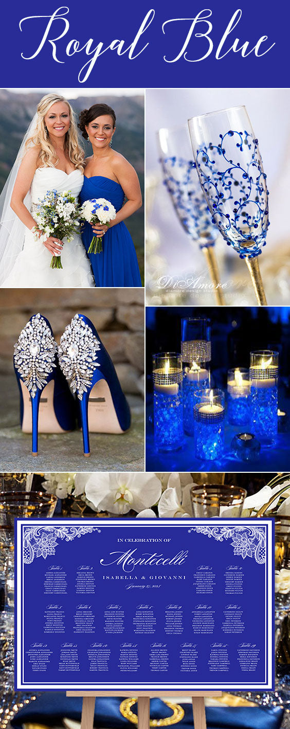 Royal Blue Wedding Ideas and Planning Resources