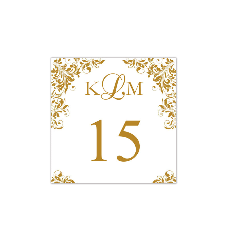 picture regarding Diy Printable Table Numbers called Printable Desk Quantity Template Gold Tent