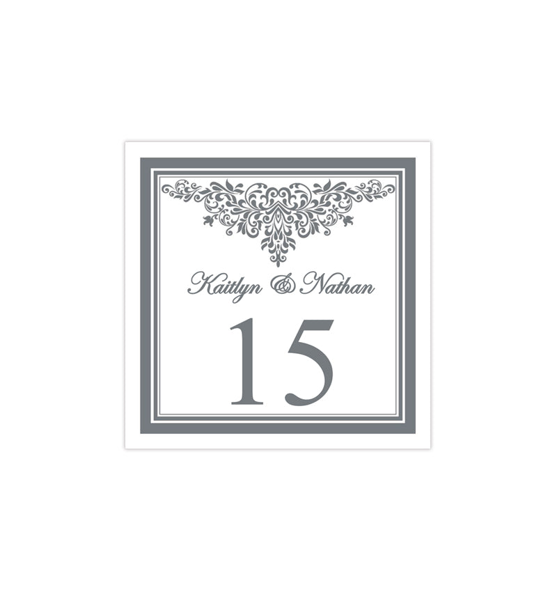 Printable Table Number Template Anna Maria Gray Tent - Wedding ...