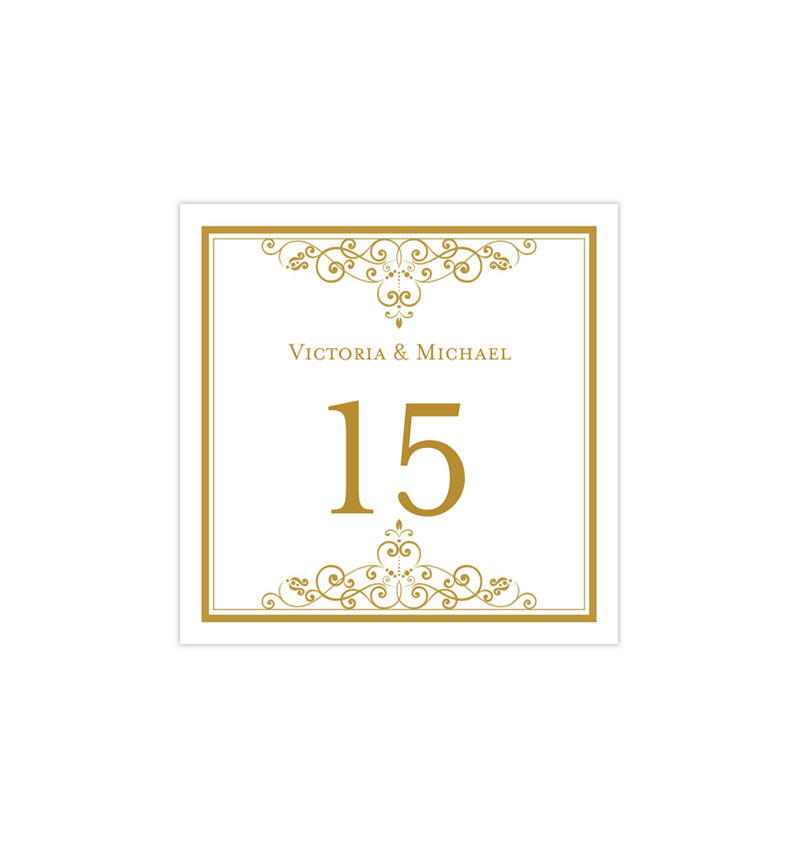 picture regarding Diy Printable Table Numbers identify Printable Desk Variety template Classic Gold Tent