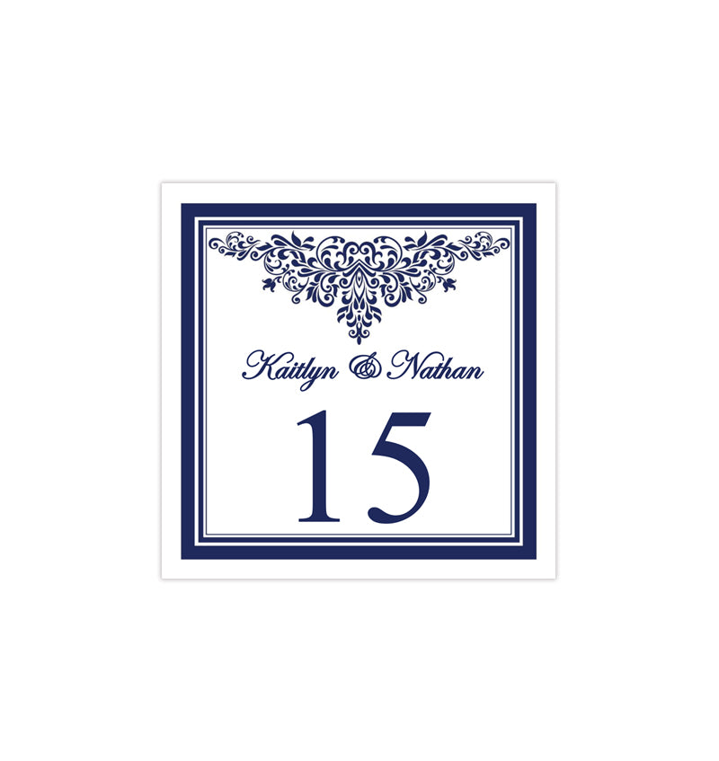 graphic relating to Diy Printable Table Numbers named Printable Desk Amount Template Anna Maria Armed forces Blue Tent