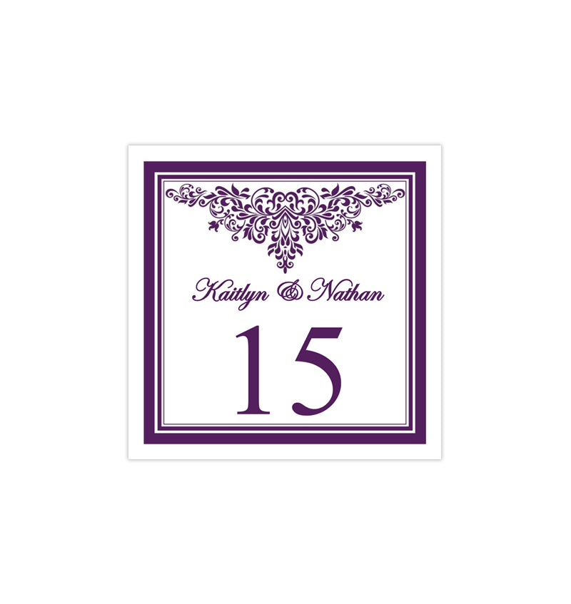 photograph relating to Printable Table Numbers known as Printable Desk Selection Template Anna Maria Pink Tent