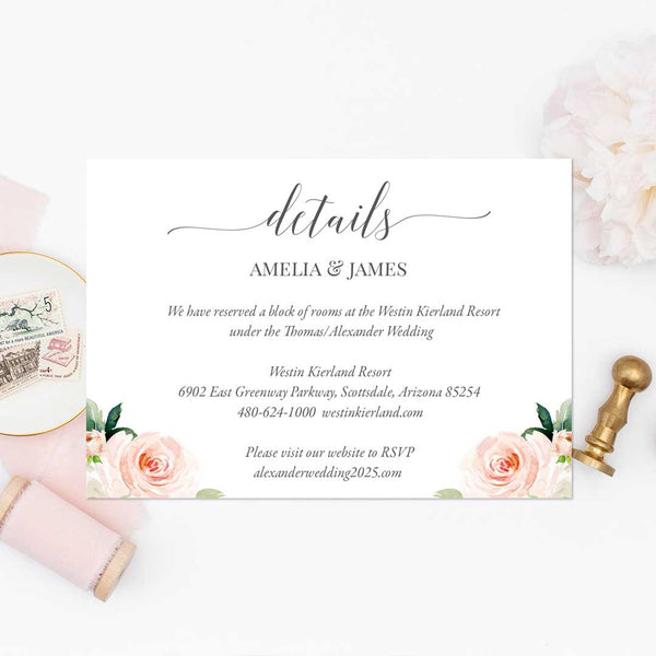 Wedding-Details-Insert-Blush-Ivory-Florals-Printable-DIY-Template