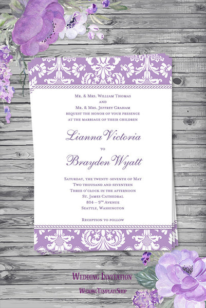 wedding invitations templates printable for all budgets