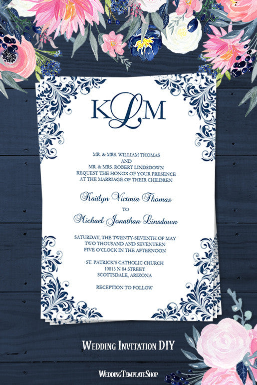 photo invitations templates