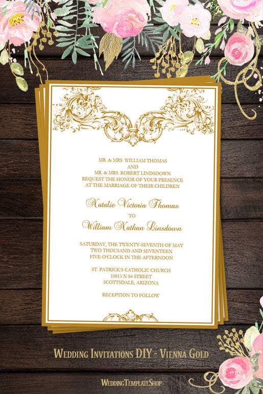 Printable Wedding Invitations Programs Reception Seating Chart Plans