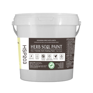 09HSP203 GREEN TEA - HERB SOIL PAINT