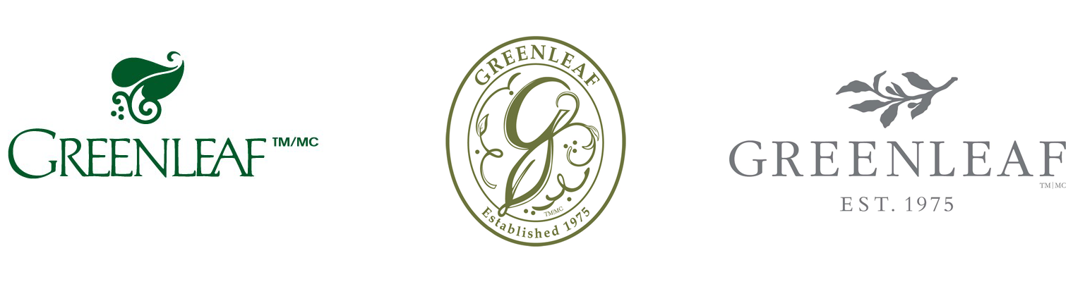 Greenleaf Logos Over The Years