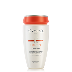 Kérastase Nutritive Bain Satin 1 Shampoo For Dry Hair 8.5 fl oz / 250 ml