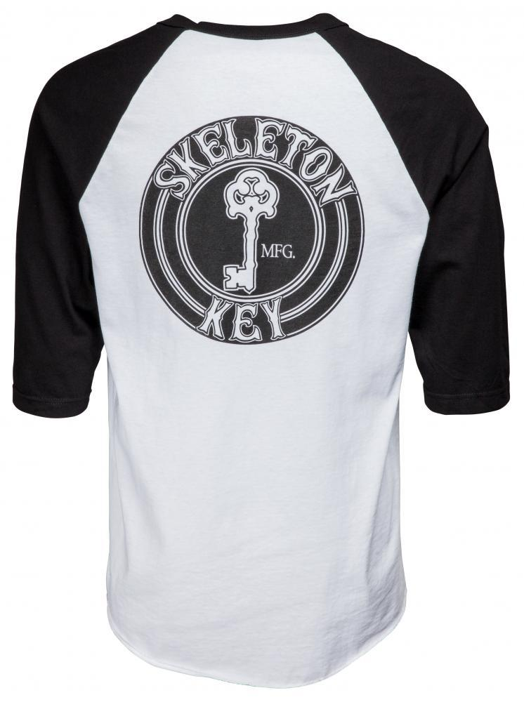 Skeleton Key L/S T Shirt Dot Raglan