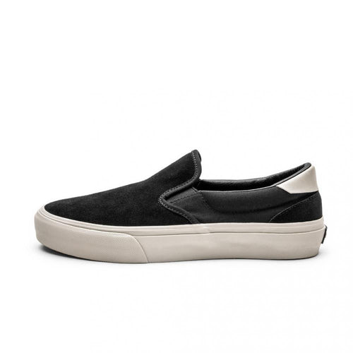 SNEAKERS & SKATE SHOES | STRAYE VENTURA BLACK BONE SUEDE
