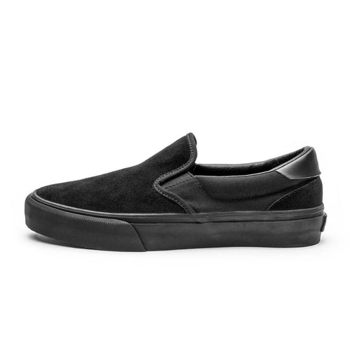 SNEAKERS & SKATE SHOES | STRAYE VENTURA BLACK BLACK SUEDE