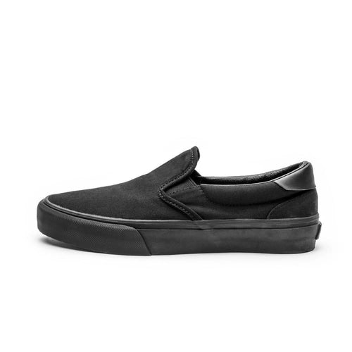SNEAKERS & SKATE SHOES | STRAYE VENTURA BLACK BLACK CANVAS
