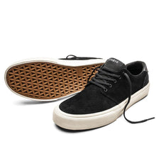 Charger l'image dans la galerie, SNEAKERS & SKATE SHOES | STRAYE FAIRFAX BLACK BONE SUEDE