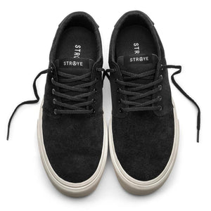 SNEAKERS & SKATE SHOES | STRAYE FAIRFAX BLACK BONE SUEDE