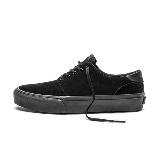 SNEAKERS & SKATE SHOES | STRAYE FAIRFAX BLACK BLACK SUEDE
