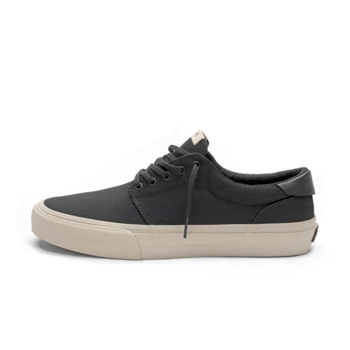 SNEAKERS & SKATE SHOES | STRAYE FAIRFAX BLACK BONE CANVAS