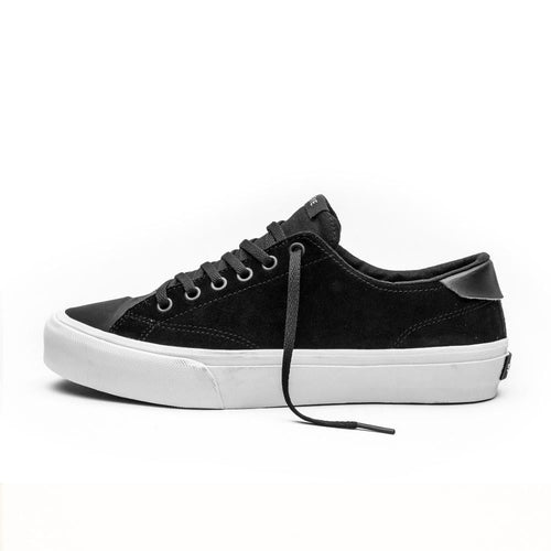 SNEAKERS & SKATE SHOES | STRAYE STANLEY DIXON BLACK SUEDE