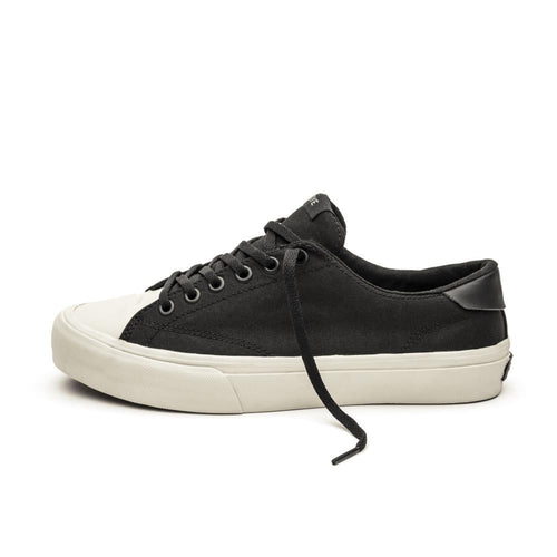 SNEAKERS & SKATE SHOES | STRAYE STANLEY BLACK BONE CANVAS