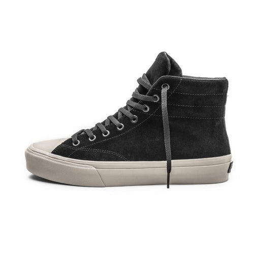 SNEAKERS & SKATE SHOES | STRAYE VENICE BLACK BONE SUEDE