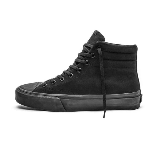 SNEAKERS & SKATE SHOES | STRAYE VENICE BLACK BLACK SUEDE