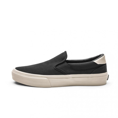 SNEAKERS & SKATE SHOES | STRAYE VENTURA BLACK BONE CANVAS