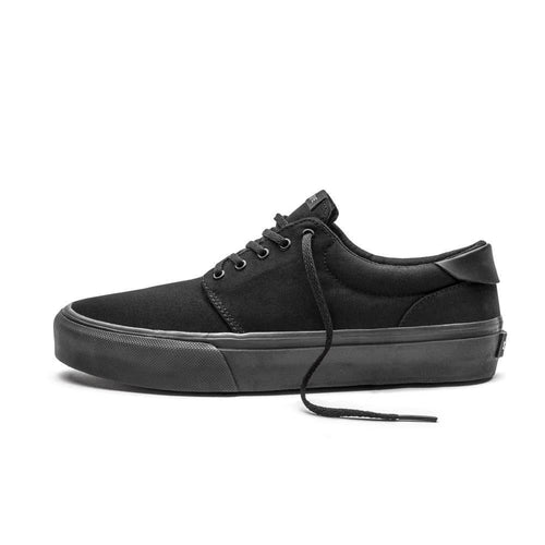 Straye Fairfax Black Black Canvas | Sneakers & Skate Shoes