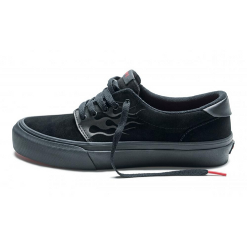 FAIRFAX BLACK FLAME SUEDE