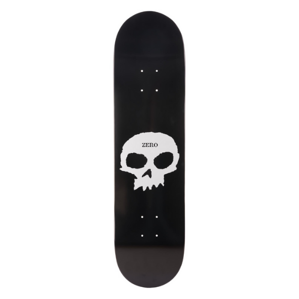 ZERO SINGLE SKULL BLACK/WHITE 8.25