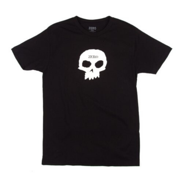 SINGLE SKULL T-SHIRT BLACK